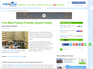 Five Most Family-Friendly Airport Hotels - MiniTime