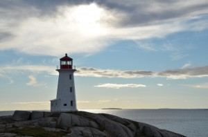 lighthouse 300x198 Halifax, Nova Scotia, Cannons and Fudge