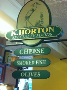 k horton sign 224x300 Eating Our Way Around Portland, Maine with Maine Foodie Tours