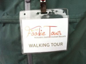 name tag 300x224 Eating Our Way Around Portland, Maine with Maine Foodie Tours