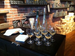 sampling mead 300x224 Eating Our Way Around Portland, Maine with Maine Foodie Tours
