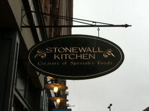 stonewall kitchen sign 300x224 Eating Our Way Around Portland, Maine with Maine Foodie Tours