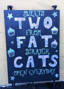 two fat cats bakery 217x300 Eating Our Way Around Portland, Maine with Maine Foodie Tours