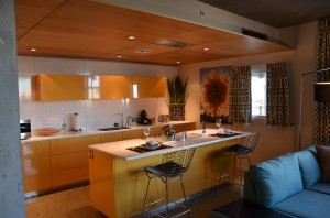 kitchen in suite 300x198 Hotel Valley Ho, Scottsdale, Arizona