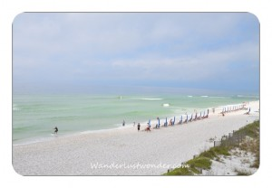 Beach in Front of Summerwind 001 300x208 The Most Perfect Condo in Navarre Beach   Summerwind Resort