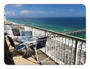 summerwind balcony 010 300x231 The Most Perfect Condo in Navarre Beach   Summerwind Resort