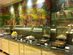 Buffet Choices at Hotel Roanoke 300x224 Eating our Way Around Roanoke, Virginia