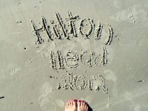 Hilton Head Written in Sand1 300x225 I Was SO WRONG About Hilton Head