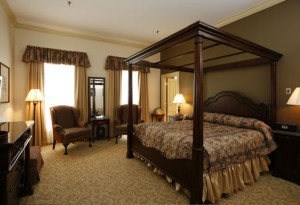 One of the guestrooms. Photo courtesy of the hotel.