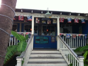 entrance 300x224 The Best Kept Secret on Tybee Island: Cocos Sunset Grille