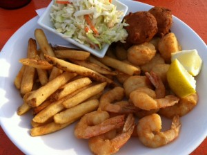 shrimp 300x224 The Best Kept Secret on Tybee Island: Cocos Sunset Grille