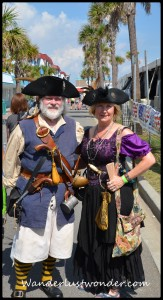 Pirate Couple 163x300 Aargh, Maties! The Tybee Island Pirate Fest