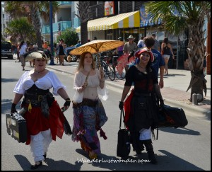 Pirate Wenches 300x243 Aargh, Maties! The Tybee Island Pirate Fest