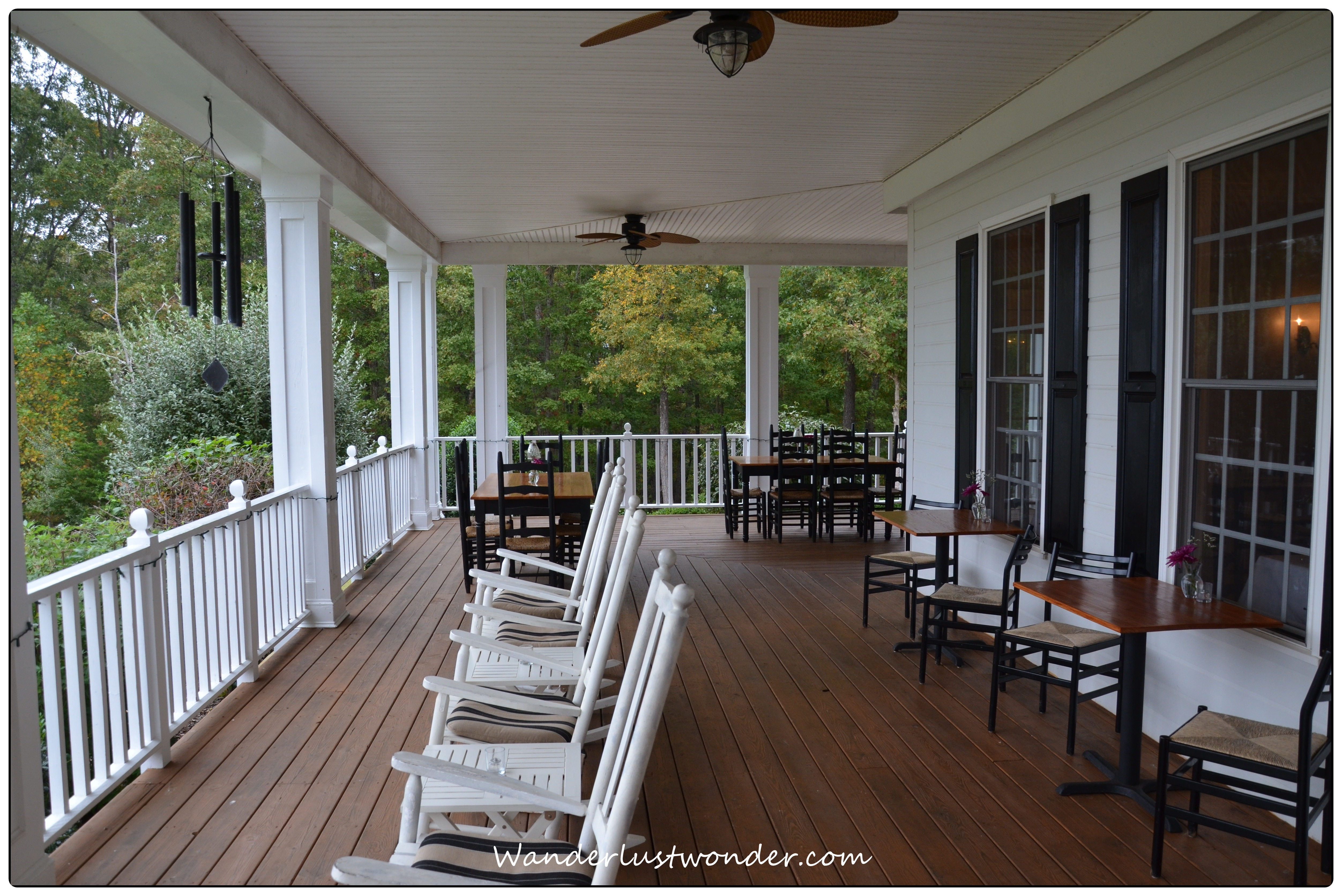 Dahlonega spa resort for House porch