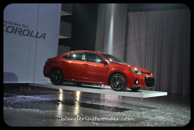 The brand new Toyota Corolla 2014.