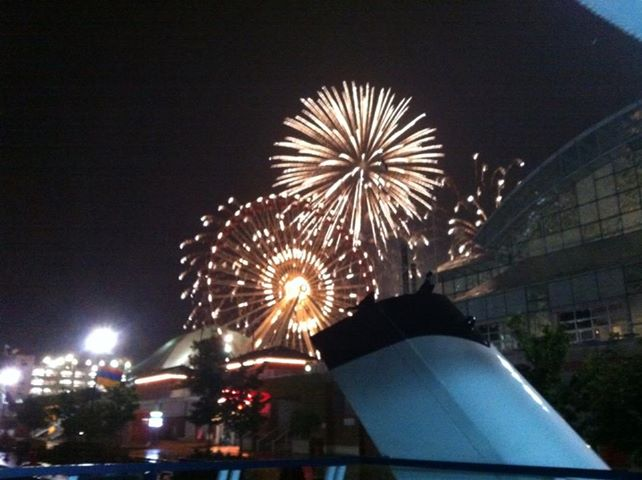 Fireworks at Navy Pier.