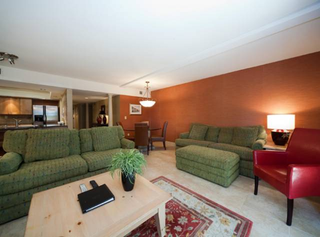 Our living room. Photo courtesy of Wild Dunes Resort.
