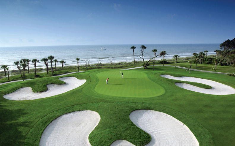 The beautiful Robert Trent Jones Golf Course. Photo courtesy of the Omni.