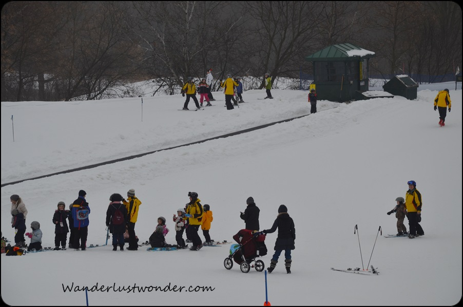 Lots of kid skiers!