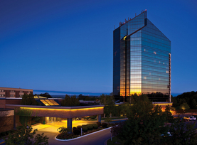 The Tower at the Grand Traverse Resort. Photo courtesy of the resort.