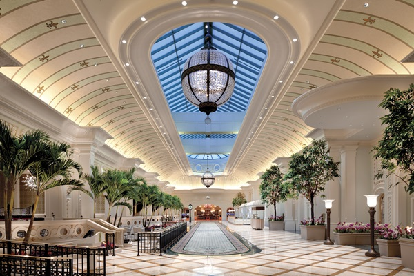 The Grand Court. Photo courtesy of the River City Casino and Hotel.