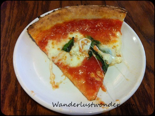 Margherita pizza - fabulous!