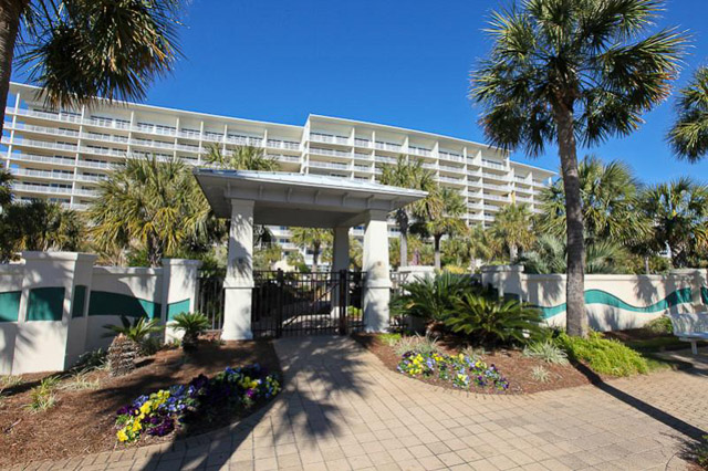 Gate to the beach. Photo courtesy of Sterling Resorts.