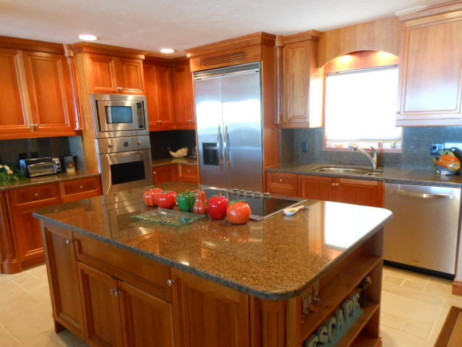 Seriously amazing kitchen. Photo courtesy of the complex.
