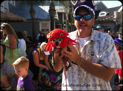 Doggie lobster. Of course.