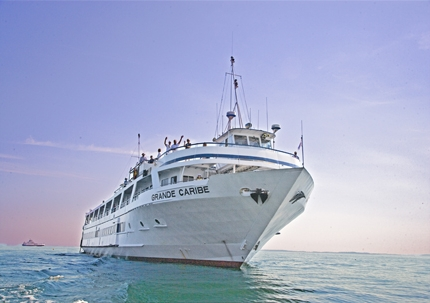 The Grande Caribe. Photo courtesy of Blount Small Ship Adventures