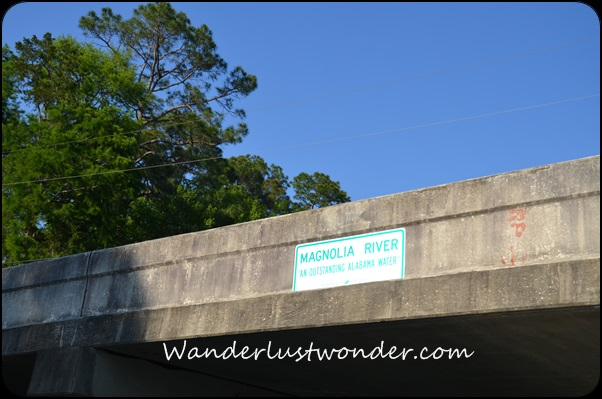 Sign for Magnolia River