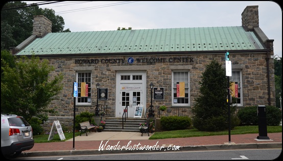 Ellicott City Visitor Center.