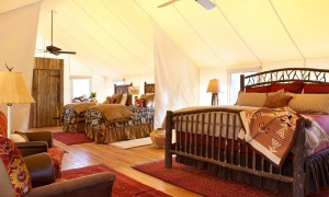 """Glamping"" - how fabulous is that?"