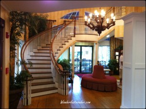 Lobby Staircase with watermark 300x224 Best Kept Secret in Florida   Amelia Island