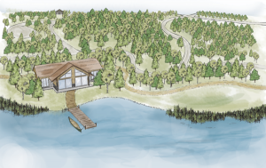 cabin illustration