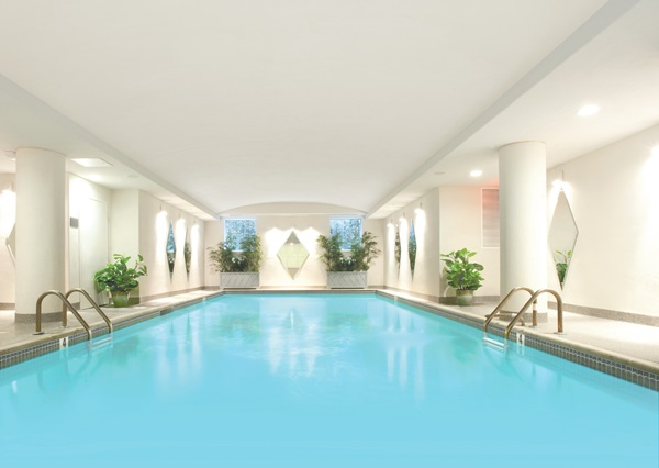 The indoor pool. Photo courtesy of the hotel.