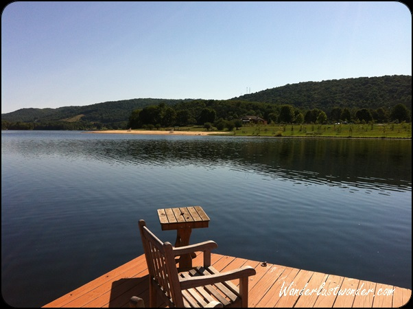 Lake Habeen at Rocky Gap Resort Casino