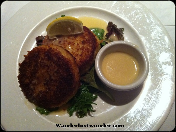 Best crab cakes ever.