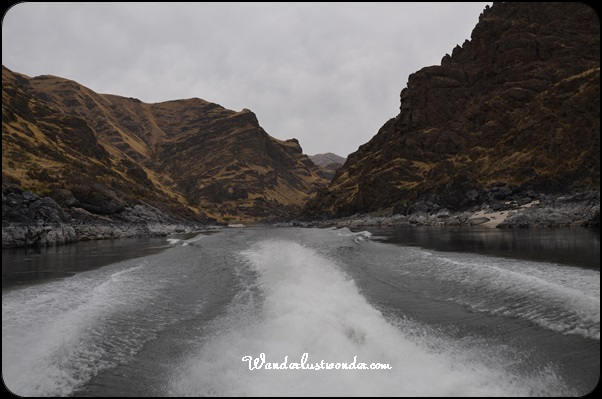 Hells Canyon Jetboat View