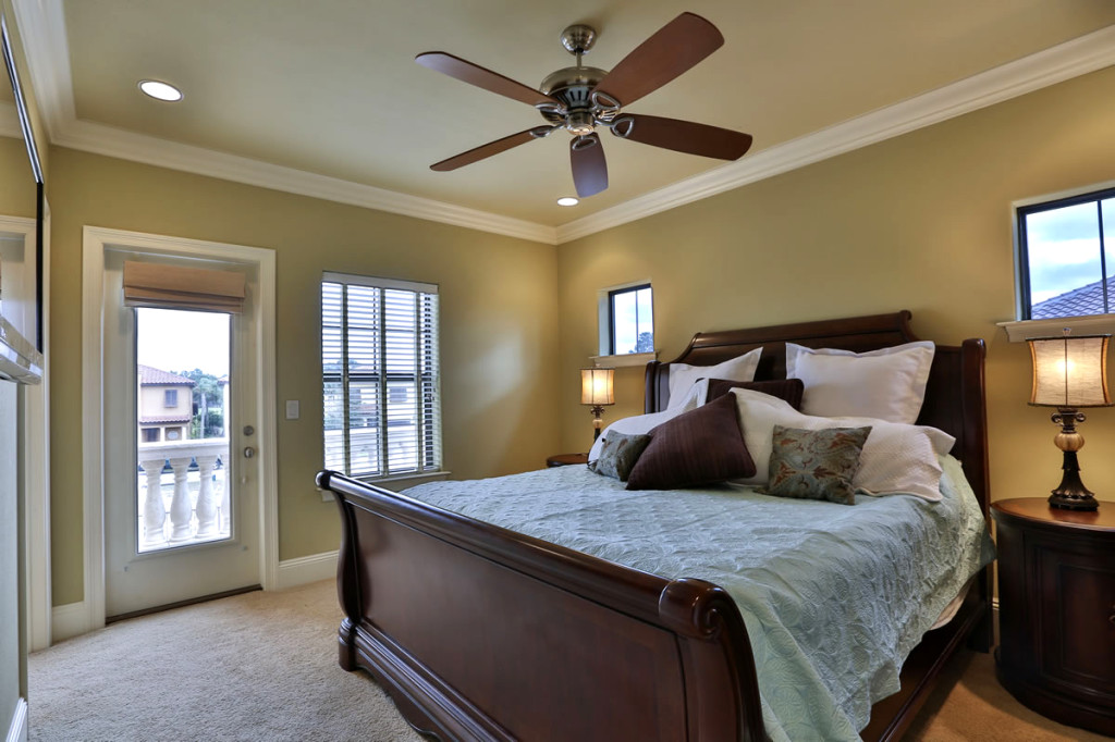 Master bedroom. Photo courtesy of Ocean Reef Resorts.