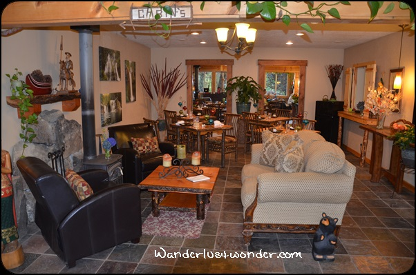 Beautiful lobby area in the office cabin.