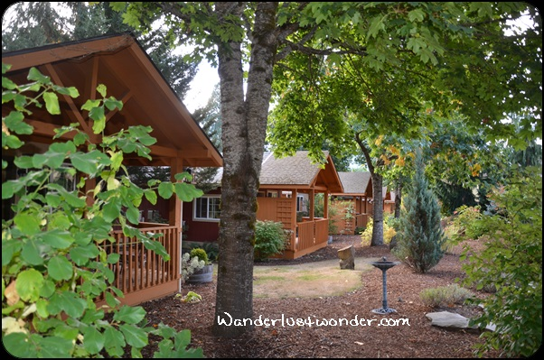 The other cabins.