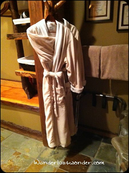 Our wonderful robes.