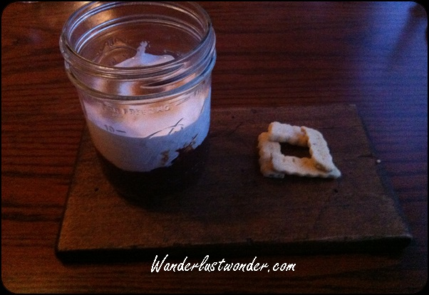 S'Mores in a jar. Can you think of a better dessert? Can you?