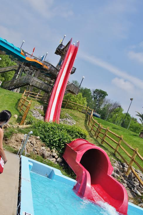 The Cliff Water Slide. Photo courtesy of The Beach Waterpark.