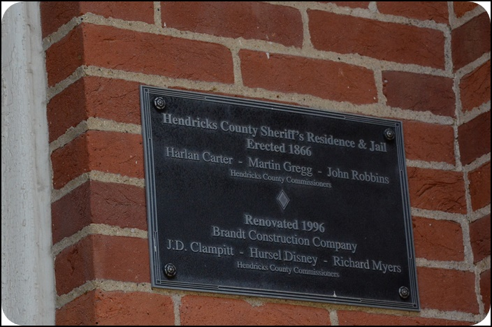Sign on Sheriff's Residence and Jail